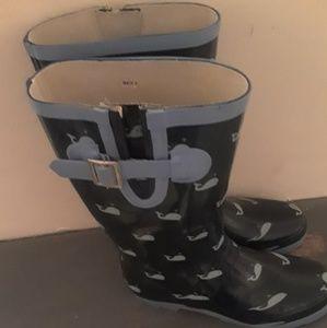 Whale Rain Boots
